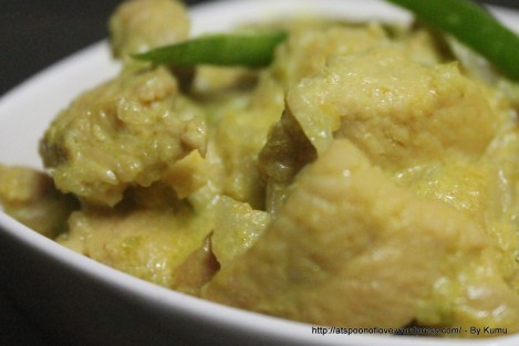 SpicyChicken in Coconut Curry