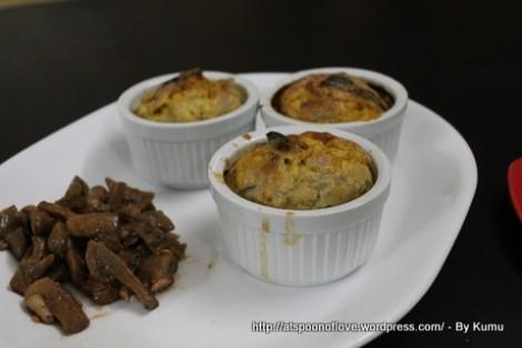 Egg Muffins with Mushroom