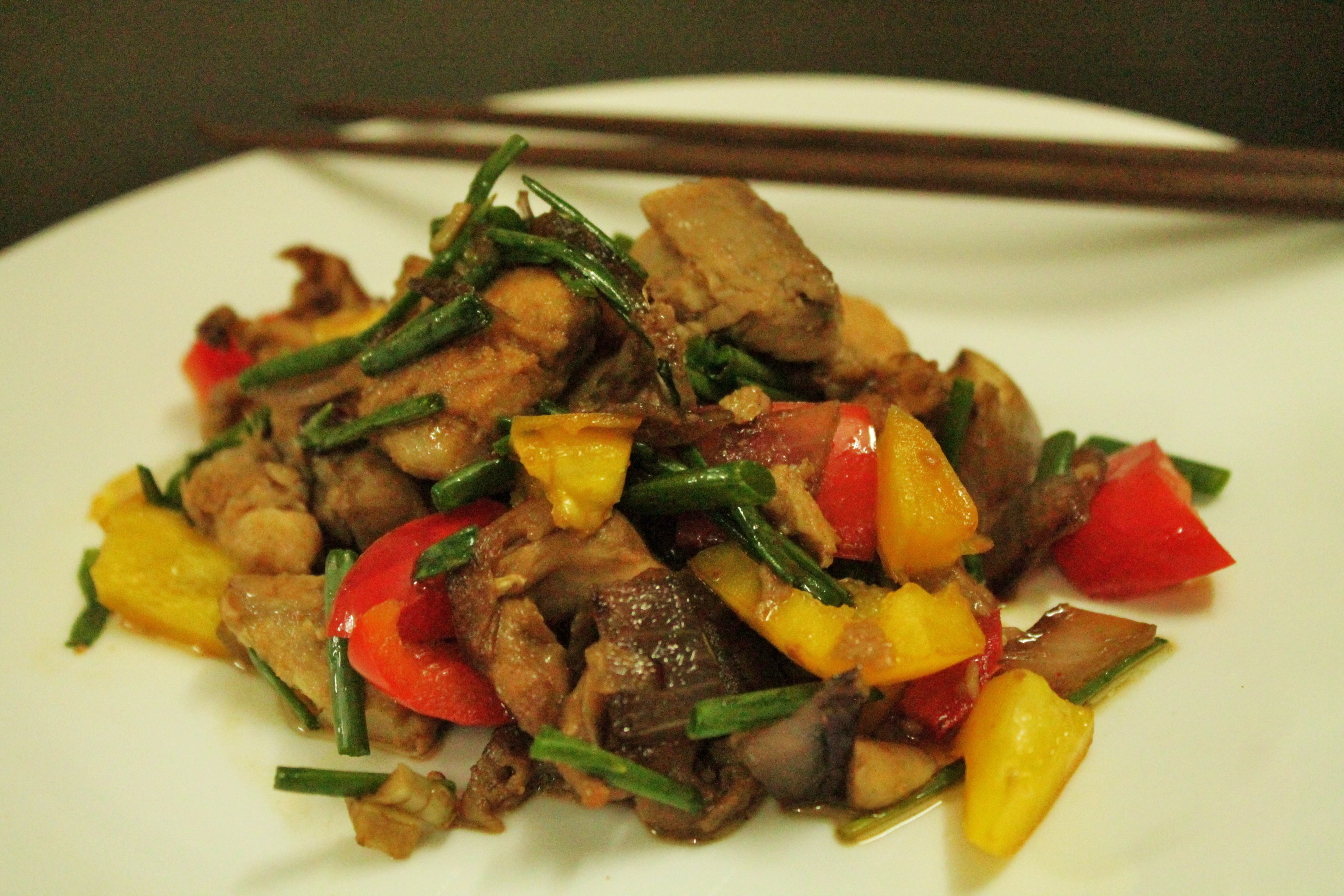 Paleo chinese fish stir fry a tea spoon of love for Fish sauce stir fry